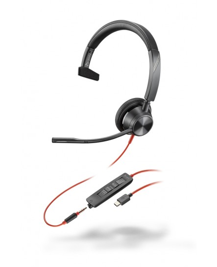 Plantronics BlackWire BW3315 USB-C / 3,5 mm mono headset