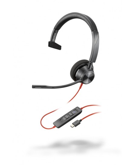 Plantronics BlackWire BW3310-M USB-C mono headset