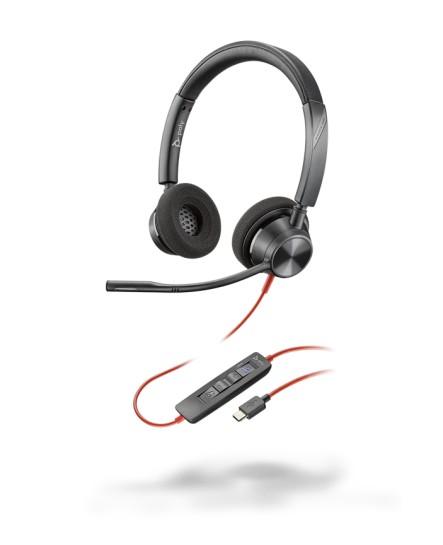 Plantronics BlackWire BW3320-M USB-C stereo headset