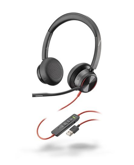 Poly (Plantronics) BlackWire 8225 USB-A ANC stereo headset