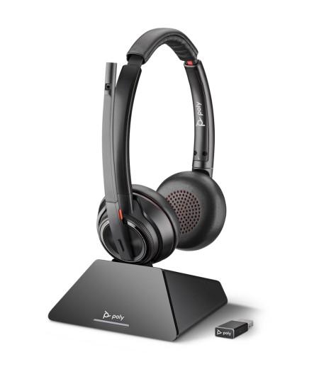 Plantronics Savi S8220UC stereo USB-C dect headset