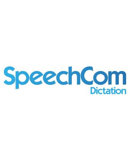 SpeechCom Dictation taligenkänning (3 månader)