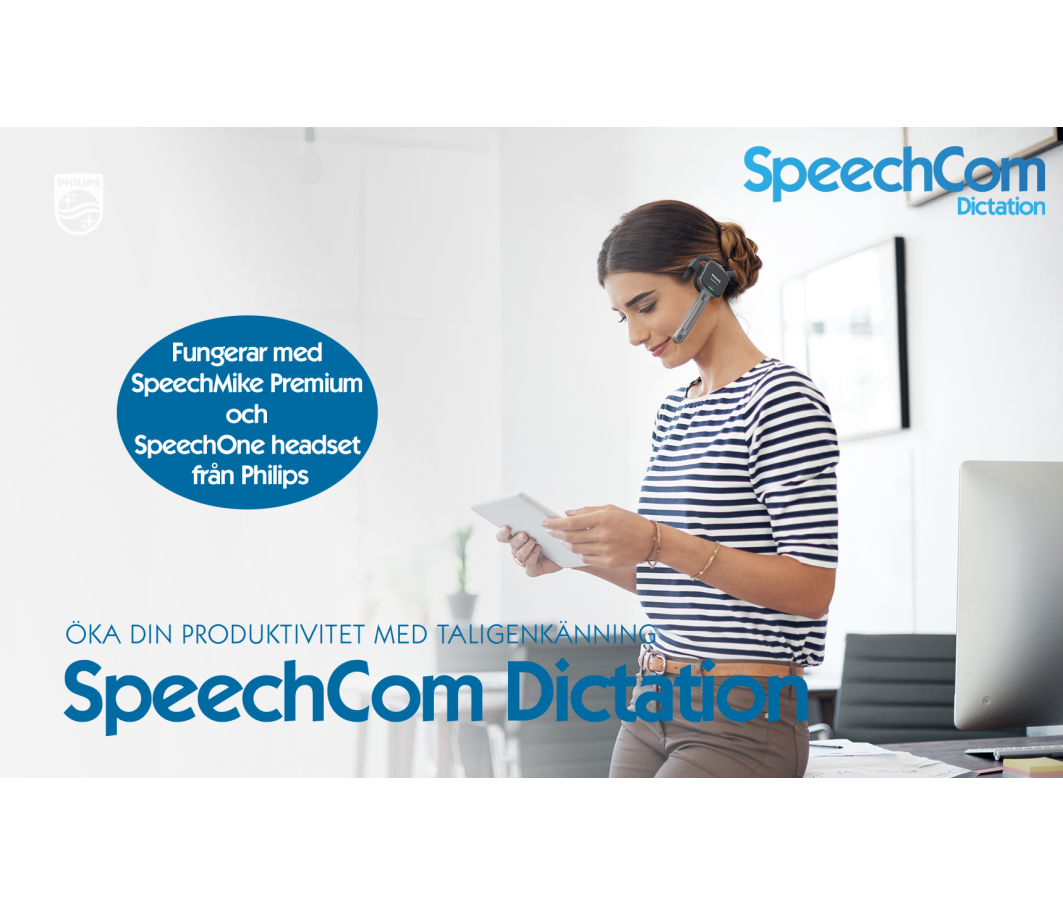 Ny version av SpeechCom Dictation, ver 2.0.0.17