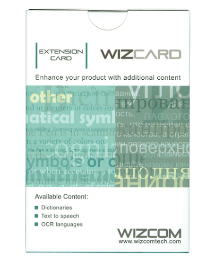 Quicktionary Wizcard Eng-Sv, Eng-Eng