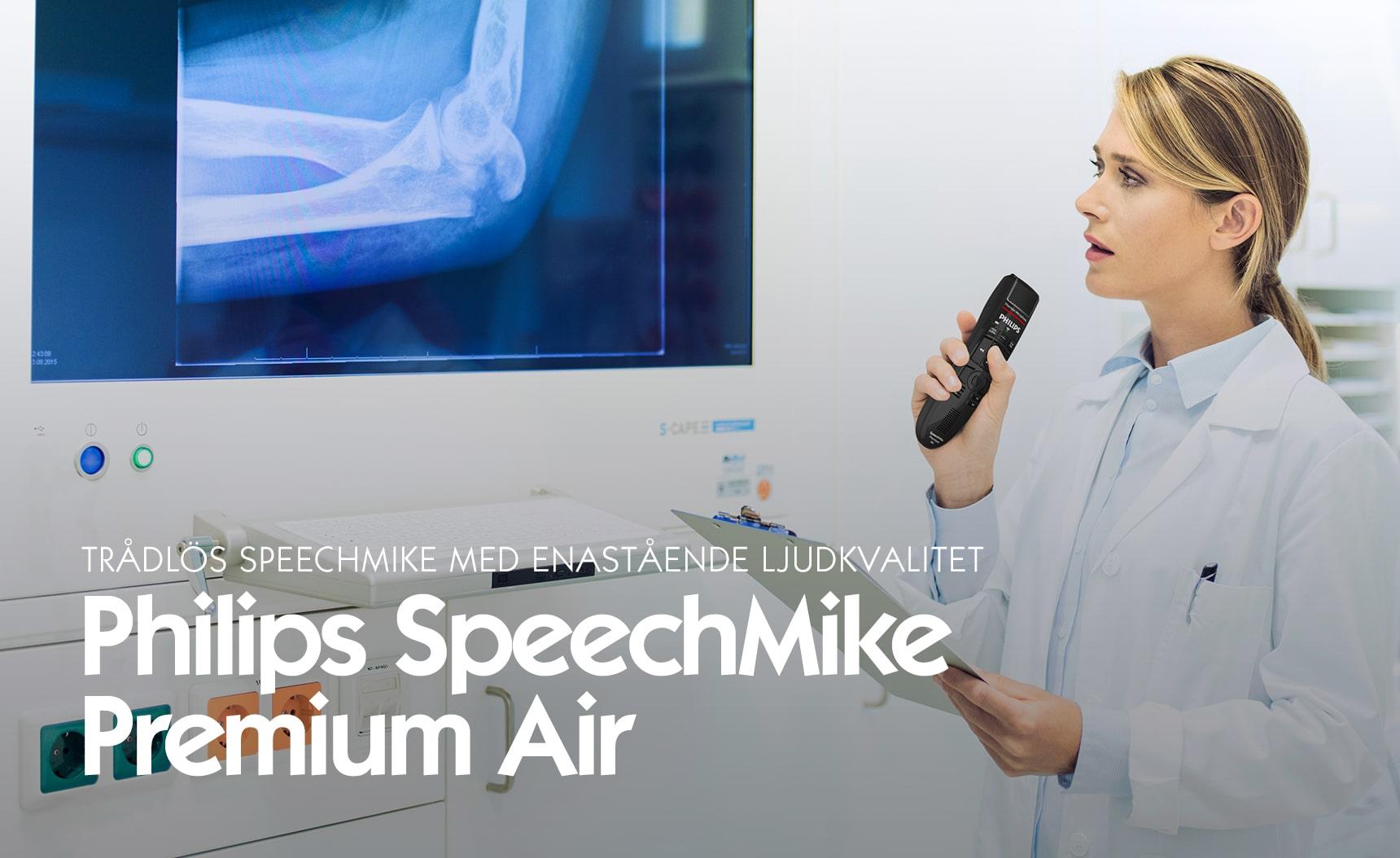 Trådlös SpeechMike med enastående ljudkvalitet - Premium Air
