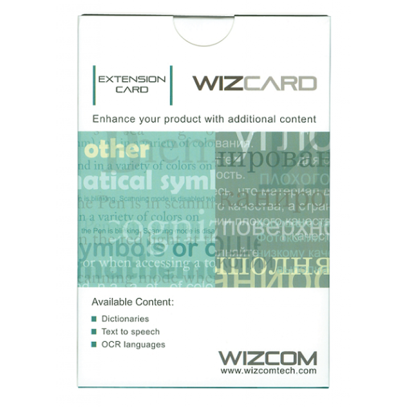 Quicktionary Wizcard Eng-Sv, Eng-Ita, Ita-Eng, Eng-Eng